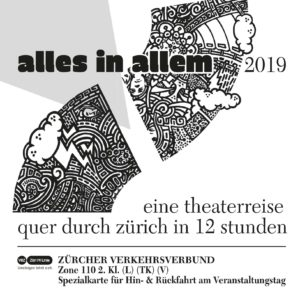 Alles in Allem Zürich Plakat 2019